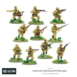 Bolt action - north korean kpa rifle squad