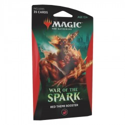 MTG - war of spark red theme booster