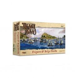 Black seas - frigates & brigs flotilla (1770-1830)