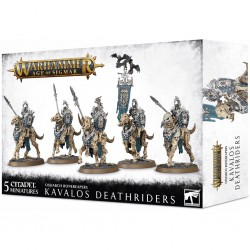 Ossiarch bonereapers - kavalos deathriders