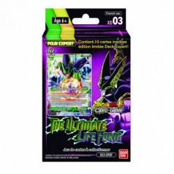 Dragon ball super JCC - ED03 - The ultimate Lifeform expert deck