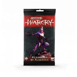 Warcry - hedonites of slaanesh cards