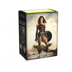 Dragon shield art - wonder woman - justice league