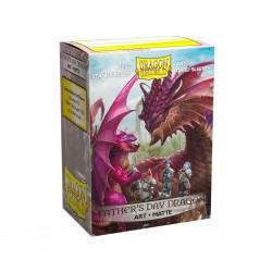 Dragon shield art - matte - father's day dragon