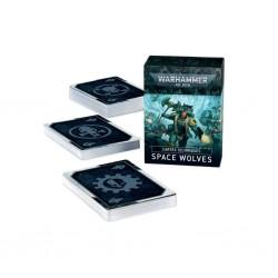 Space wolves - cartes techniques - Warhammer 40K V9