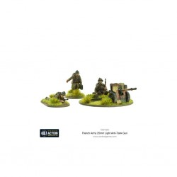 Bolt action - french resistance light anti tank gun