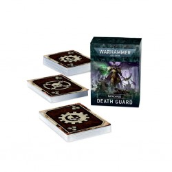 Death guard - cartes techniques - Warhammer 40K V9