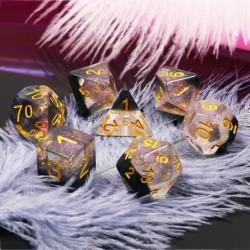 Kit de 7 des - JD - crystal ice