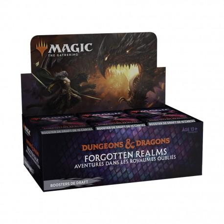 MTG - forgotten realms - boite de 36 boosters
