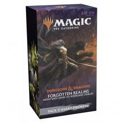 MTG - forgotten realms - kit avant premiere FR