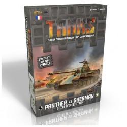 Tanks - panther vs sherman -